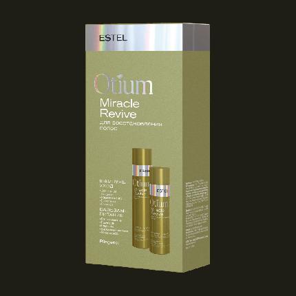 Набор для восстановления волос Estel Otium Miracle (шампунь 250 мл, бальзам 200 мл)