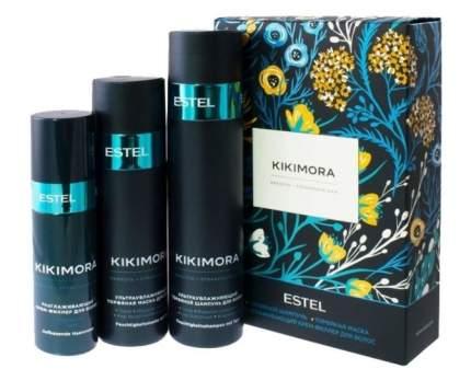 Набор для волос Estel KIKIMORA шампунь 250 мл, маска 200 мл, разглаживающий филлер 100 мл