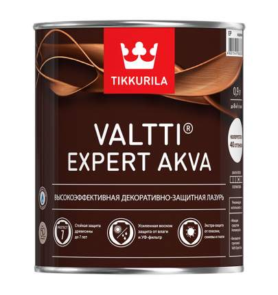Лазурь Tikkurila Valtti Expert Akva высокоэффективная декоративно-защитная Сосна 0,9 л