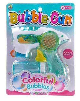 Мыльные пузыри Junfa Пистолет полупрозрачный на батарейках WF-7748