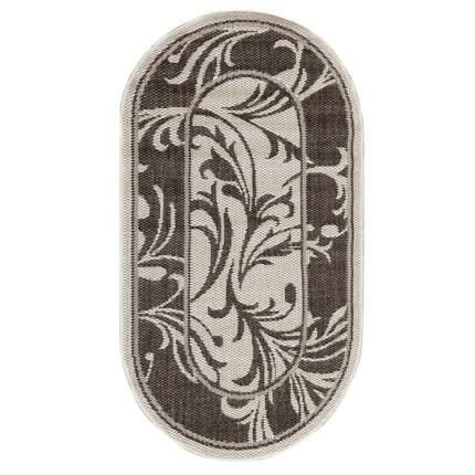 Ковер «Циновка», овальный, 160х230 см