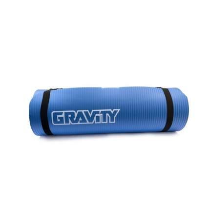 Коврик для фитнеса Gravity 180х60х1,5 см, синий