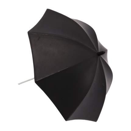 AR758 Зонтик пластмассовый 12,5*13см 2шт/упак черный