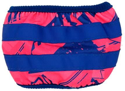 Трусы для собак FOR MY DOGS размер 14, синий, розовый