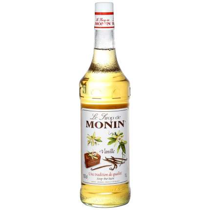 Сироп Monin French Vanilla Syrup со вкусом и ароматом ванили 1л