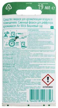 Сменный флакон для Air Wick Вишневый сад 19мл