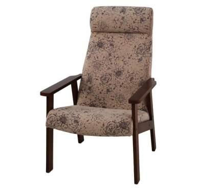 Кресло для отдыха Вилора, флок RJB 14-4, Орех