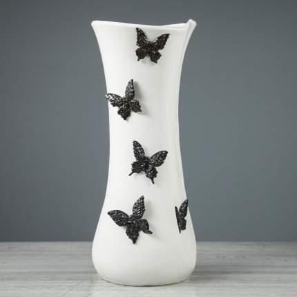 """Ваза настольная """"Румба"""", лепка, бабочка, 36 см"""