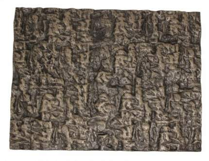 Фон для террариума Repti-Zoo объемный, пенополиуретан, 60x45 см, коричневый