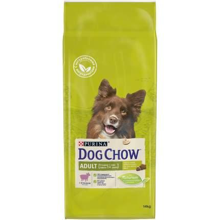 Сухой корм для собак Dog Chow Adult, ягненок, 14кг