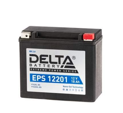 Аккумулятор автомобильный Delta EPS 12201 18 Ач
