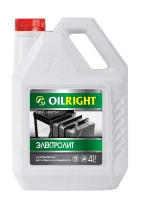 Электролит OIL RIGHT, 4 л