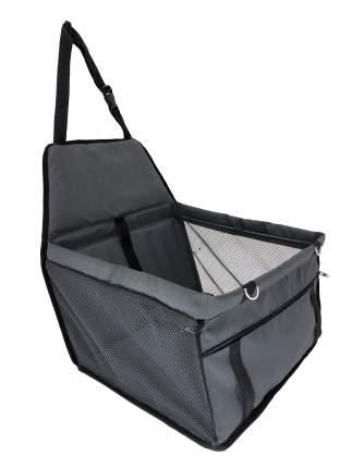 Автогамак для перевозки животных  40*33*25см, серый