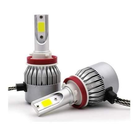 H11 лампа светодиодная Run Energy для автомобиля. LED C6 12/24V 6000K 3800Lm, 2шт.