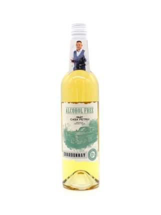 """Вино безалкогольное Casa Petru (Каса Петру) Шардоне"""" 0,75 белое полусладкое, Молдавия"""