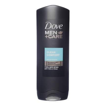 Гель для душа Dove Men+Care мужской Чистота и комфорт 250 мл