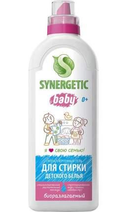 Гель для стирки детского белья SYNERGETIC концентрат, гипоаллергенный, без запаха, 1л