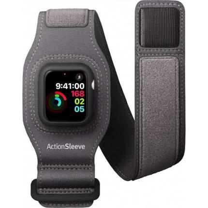 Cпортивный чехол на руку Twelve South Action Sleeve для Apple Watch 44mm.