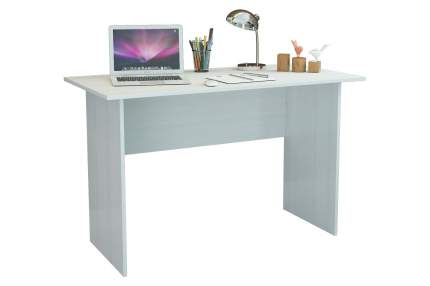 Компьютерный стол MFMaster Милан-126 МСТ-СДМ-26-БТ-16, белый
