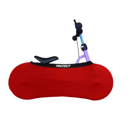 Чехол универсальный PROTECT (беговел/самокат/детский велосипед) 70-110 см Красный