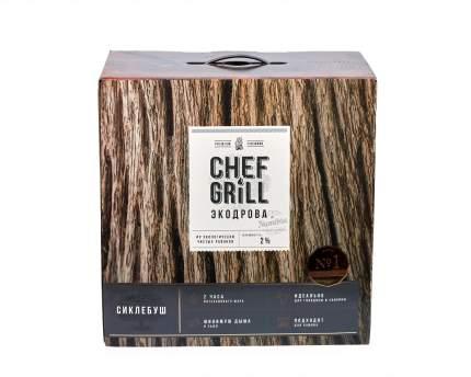 Дрова из дерева Сиклебуш Chef Grill ЭДС8Н264 8 кг