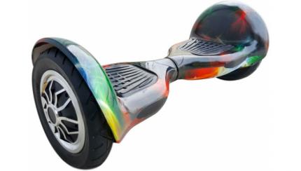 "Гироскутер Smart Balance Carcam 10,5"" cosmos shine"