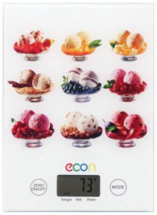Весы кухонные Econ ECO-BS115K White