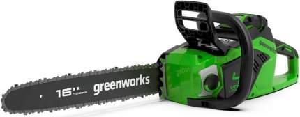 Аккумуляторная цепная пила Greenworks GD40CS18 2005807 без АКБ и ЗУ