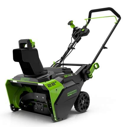Аккумуляторный снегоуборщик Greenworks GD82STK5 2602507UB АКБ и ЗУ в комплекте