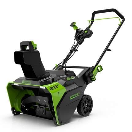 Аккумуляторный снегоуборщик Greenworks GD82ST 2602507 без АКБ и ЗУ