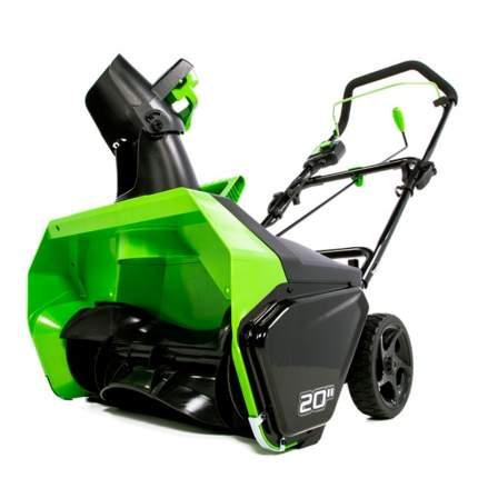 Аккумуляторный снегоуборщик Greenworks GD60ST 2602407 без АКБ и ЗУ