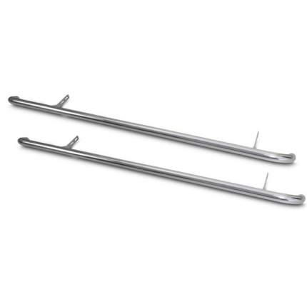 Пороги труба d63 (вариант 1) для SSANG YONG ACTYON 2014-