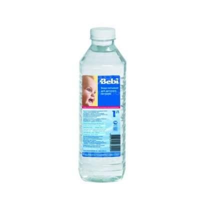 Bebi вода питьевая для детского питания, с 0 месяцев, 1 л Bebi