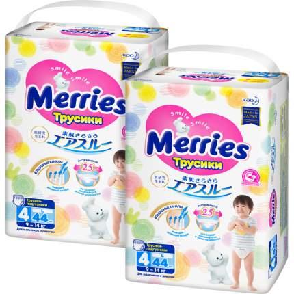 Трусики-подгузники для детей Merries размер L (9-14 кг), 88 шт.