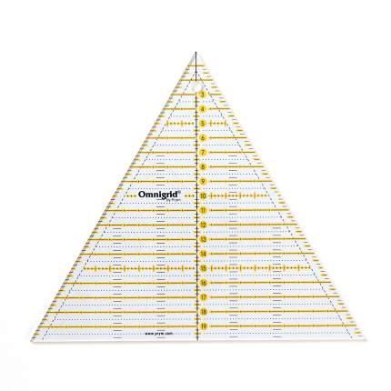 """Линейка для пэчворка """"Omnigrid"""", треугольник 60°, сторона 20 см"""