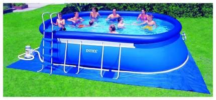 Надувной бассейн Intex Oval Frame 28194 610x366x122 см