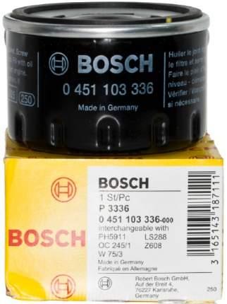 Фильтр масляный BOSCH 0451103336