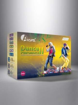 Танцевально-игровой коврик Dance Perfomance II ASPEL ТВ/ПК для двоих (32 бита)