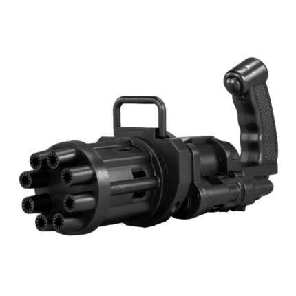Детский пистолет-генератор мыльных пузырей Bubble Gun/ Electric Bubble Machine , черный