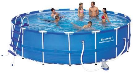 Каркасный бассейн Bestway SteelPro 56113 549x549x122 см