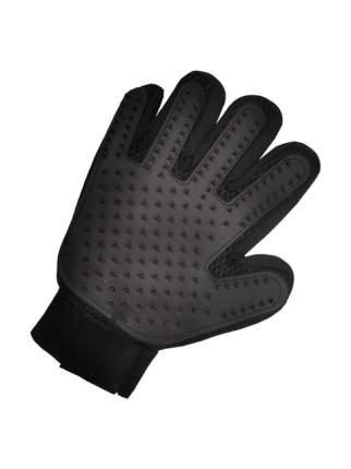 Рукавица для вычесывания шерсти животных STEFAN цвет черный, 23х17см