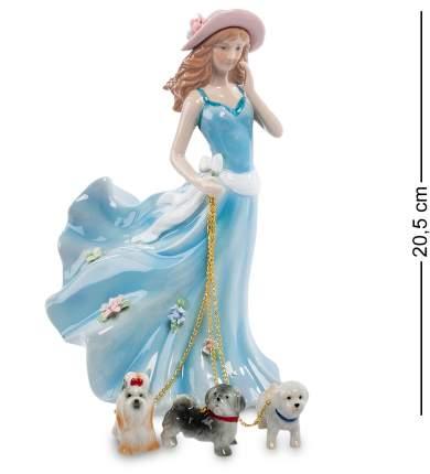 Статуэтка Дама с собаками Pavone