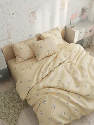Пододеяльник Сказка -Котики (компаньон)- 2-спальный на молнии 175х215 см