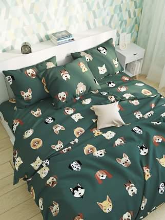 Пододеяльник Сказка -Dogs - 1,5-спальный на молнии 145х215 см
