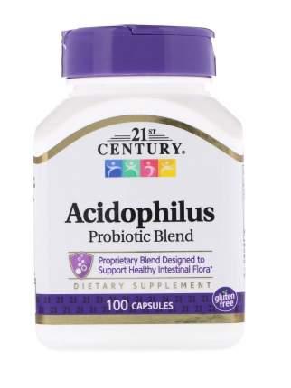 Пробиотик 21ST CENTURY Acidophilus капсулы 100 шт.