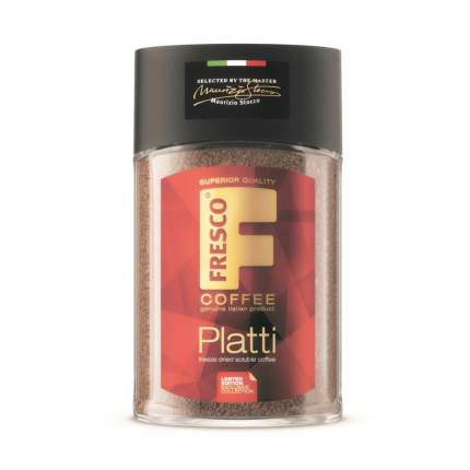 Кофе Fresco Platti, сублимированный растворимый, 95 гр