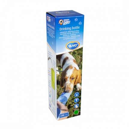 Поилка для собаки Duvo+дорожная с кнопкой, в ассортименте, 0.45 мл