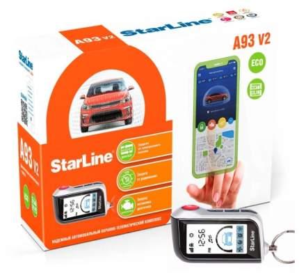 Автосигнализация StarLine A93 2CAN/2LIN ECO v2