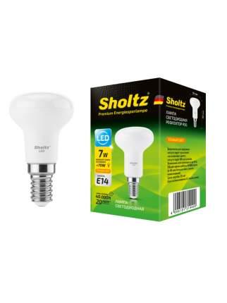 Светодиодная лампа Sholtz рефлектор 7Вт E14 2700К R50 220-240В пластик
