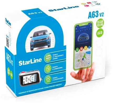 Автосигнализация StarLine A63 V2 2CAN+2LIN ECO
